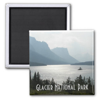 Glacier National Park Travel Photo Magnet