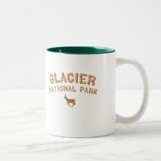 Glacier National Park Two-Tone Coffee Mug