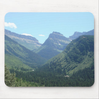 Glacier National Park Views Mouse Pad