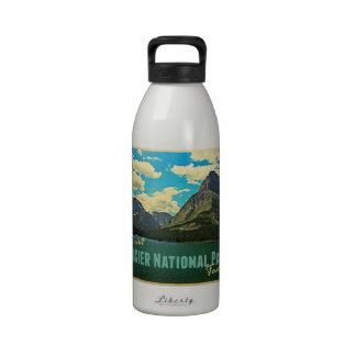 Glacier National Park Reusable Water Bottles