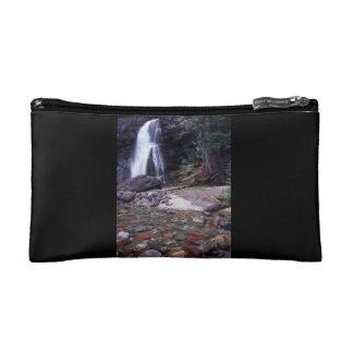 Glacier National Park Waterfall Cosmetic Bag
