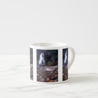 Glacier National Park Waterfall Espresso Cup