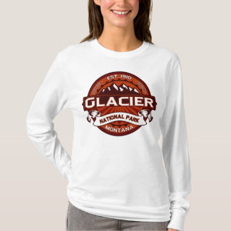 Glacier Natl Park Crimson T-Shirt