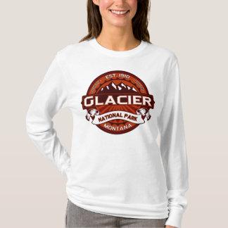 Glacier Natl Park Crimson T-Shirt