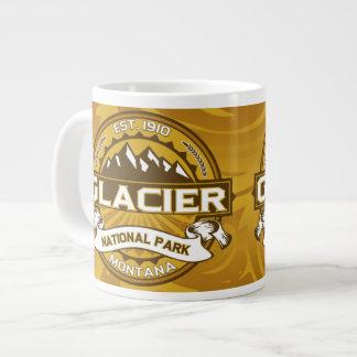 Glacier Natl Park Goldenrod Large Coffee Mug
