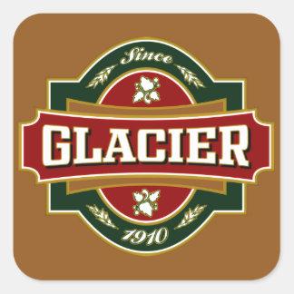 Glacier Old Label Sticker