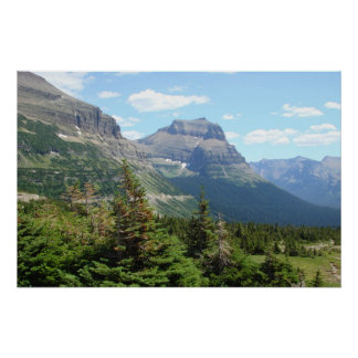 Glacier Park - Going to the Sun Road Poster