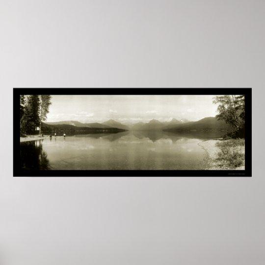 Glacier Park MT Photo 1916 Poster