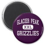 Glacier Peak - Grizzlies - High - Snohomish Magnet
