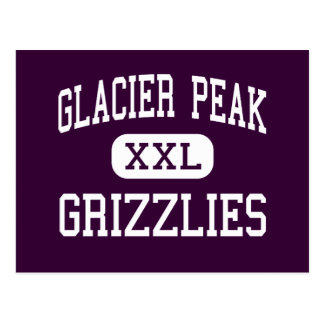 Glacier Peak - Grizzlies - High - Snohomish Postcard