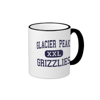 Glacier Peak - Grizzlies - High - Snohomish Ringer Coffee Mug