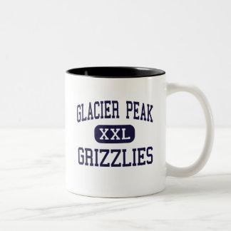 Glacier Peak - Grizzlies - High - Snohomish Two-Tone Coffee Mug