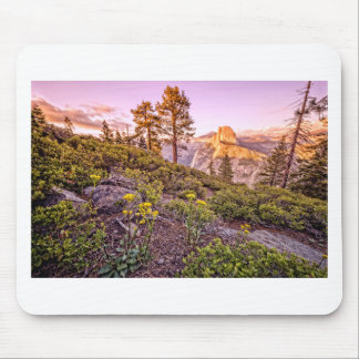 Glacier Point Sunset (Horizontal) Mouse Pad
