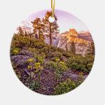 Glacier Point Sunset (Horizontal) Ornaments