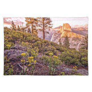 Glacier Point Sunset Horizontal Placemats