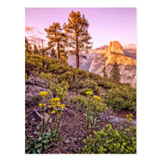 Glacier Point Sunset (Horizontal) Postcard