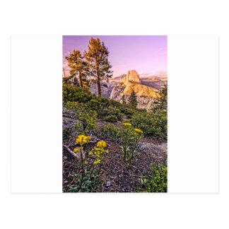 Glacier Point Sunset (Vertical) Postcard