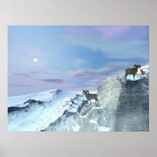 Glacier ~Print~ Poster