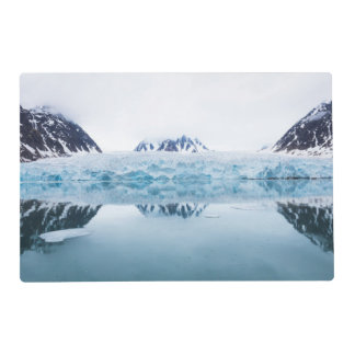 Glacier reflections, Norway Placemat