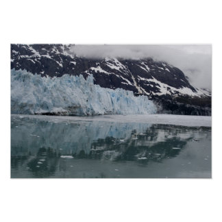 Glacier Reflections Poster