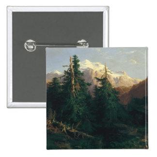 Glacier, Rosen Lanigletscher, 1854 Buttons