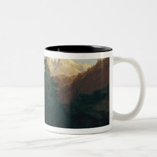 Glacier, Rosen Lanigletscher, 1854 Two-Tone Coffee Mug