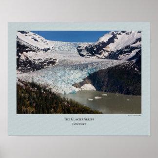 Glacier Series - Taku Inlet 158 Poster