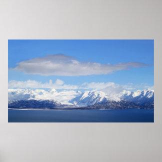 Glacier View Posters