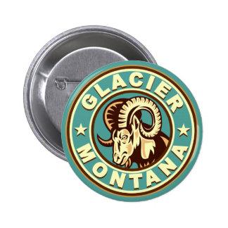 Glacier Vintage Circle Pin