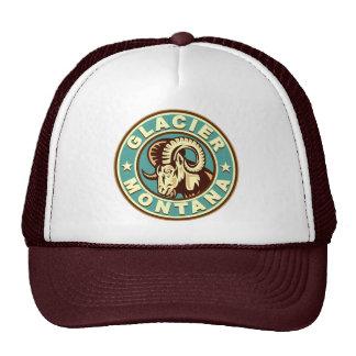 Glacier Vintage Circle Trucker Hat