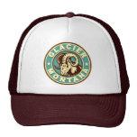Glacier Vintage Circle Mesh Hats
