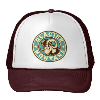 Glacier Vintage Circle Trucker Hat
