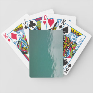 Glacier Water Bicycle Playing Cards