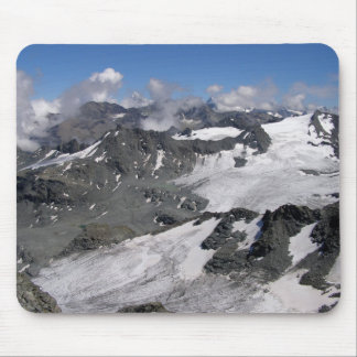 Glaciers at Mont Fort Mouse Pad