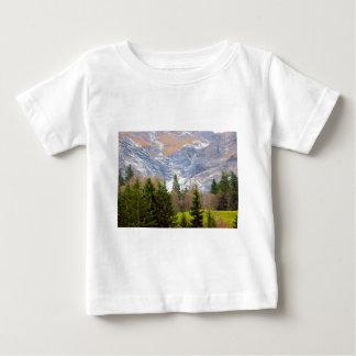 Glaciers descending in the Jungfrau region Infant T-shirt