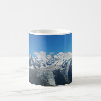 Glaciers on Mont Blanc Coffee Mug