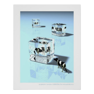 Glaçons - Icecubes Posters