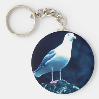 Glacous Winged Gull Keychain