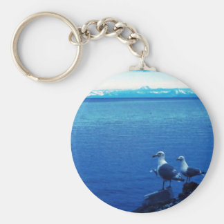 Glacous Winged Gull Key Chains