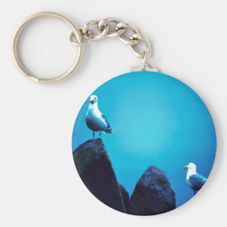 Glacous Winged Gulls Key Chain