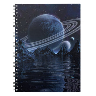 Glactic Blue Notebook