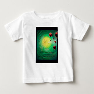 Glad Christmas a good slide in the new year Baby T-Shirt