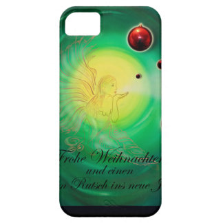 Glad Christmas a good slide in the new year iPhone SE/5/5s Case