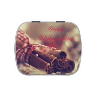 Glad Christmas gift box Jelly Belly Tins
