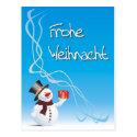 Glad Christmas… /Merry Christmas Postcard