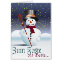 Glad Christmas Stationery Note Card