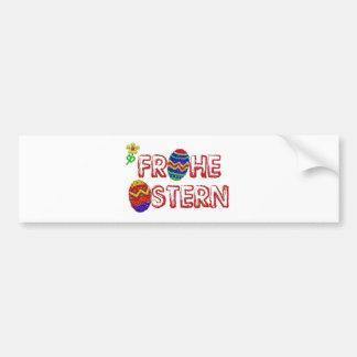 Glad Easter Bumper Sticker