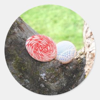 Glad Easter Classic Round Sticker