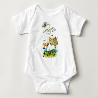 Glad Easter Wishes Baby Bodysuit