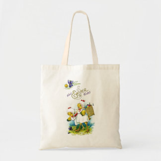 Glad Easter Wishes Budget Tote Bag
